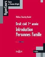 Télécharger le livre :  Droit civil 1re année. Introduction Personnes Famille