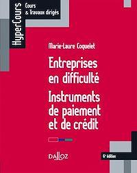 Téléchargez le livre numérique:  Entreprises en difficulté. Instruments de paiement et de crédit