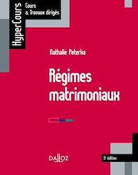 Télécharger le livre : Régimes matrimoniaux