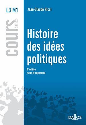 Téléchargez le livre :  Histoire des idées politiques