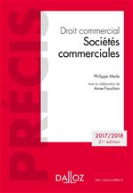 Télécharger le livre :  Droit commercial. Sociétés commerciales. Édition 2018