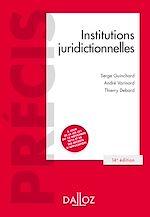 Télécharger le livre :  Institutions juridictionnelles