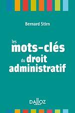 Télécharger le livre :  Les mots-clés du droit administratif