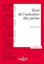 Télécharger cet ebook : Droit de l'exécution des peines