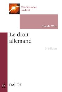 Télécharger le livre : Le droit allemand