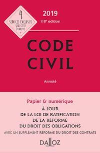 Télécharger le livre : Code civil 2019, annoté