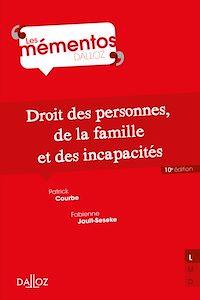 Télécharger le livre : Droit civil. Les personnes, la famille, les incapacités