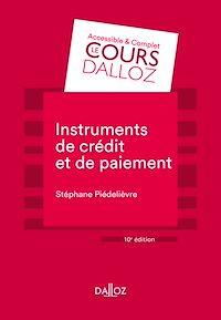 Télécharger le livre : Instruments de paiement et de crédit
