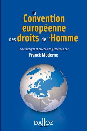 Téléchargez le livre :  La Convention européenne des droits de l'homme - 4e éd.