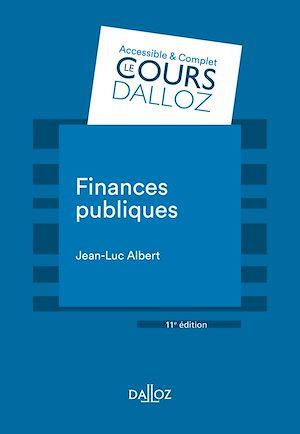 Téléchargez le livre :  Finances publiques - 11e éd.