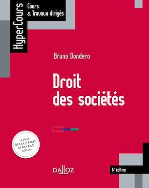 Téléchargez le livre :  Droit des sociétés - 6e éd.