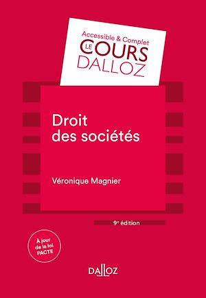 Téléchargez le livre :  Droit des sociétés - 9e éd.