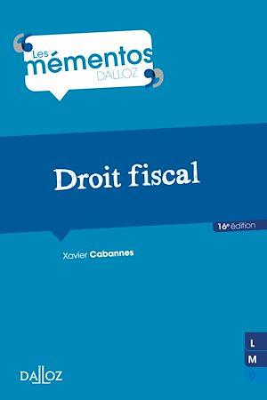 Téléchargez le livre :  Droit fiscal - 16e ed.