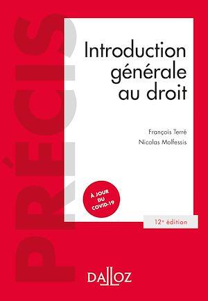 Téléchargez le livre :  Introduction générale au droit - 12e ed.