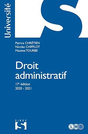 Téléchargez le livre :  Droit administratif - 17e ed.