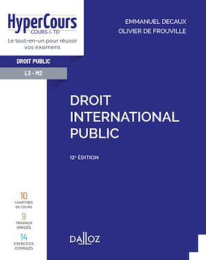 Téléchargez le livre :  Droit international public - 12e ed.