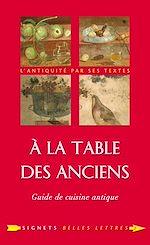 Télécharger le livre :  À la Table des Anciens