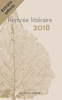 Télécharger le livre : Rentrée littéraire Presses de la Cité 2018 extraits