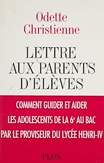 Télécharger le livre :  Lettre aux parents d'élèves