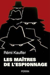 Télécharger le livre : Les maîtres de l'espionnage