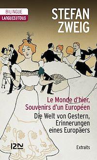 Télécharger le livre : Bilingue - Le Monde d'hier (extraits)