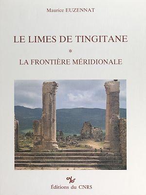 Téléchargez le livre :  Le Limes de Tingitane (1)