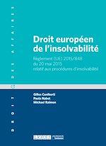 Télécharger le livre :  Droit européen de l'insolvabilité