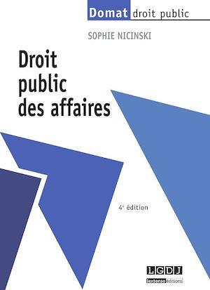 Téléchargez le livre :  Droit public des affaires - 4e édition