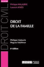 Télécharger le livre :  Droit de la famille - 6e édition