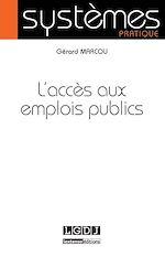Télécharger le livre :  L'accès aux emplois publics