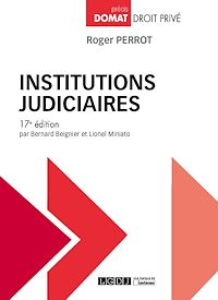 Télécharger le livre : Institutions judiciaires - 17e édition