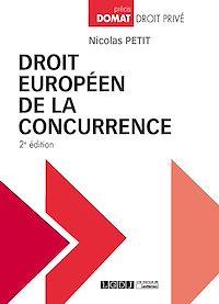 Télécharger le livre : Droit européen de la concurrence - 2e édition