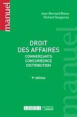 Télécharger le livre :  Droit des affaires - 9e édition