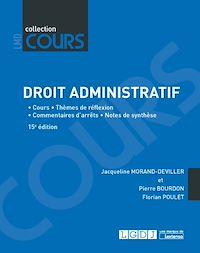 Télécharger le livre : Droit administratif - 15e édition
