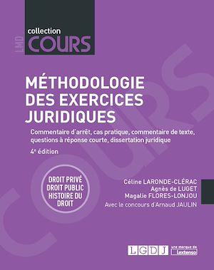 Téléchargez le livre :  Méthodologie des exercices juridiques - 4e édition