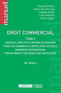 Télécharger le livre : Droit commercial - 30e édition