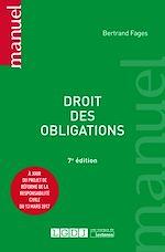Télécharger le livre :  Droit des obligations - 7e édition