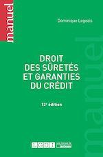 Télécharger le livre :  Droit des sûretés et garanties du crédit - 12e édition
