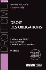 Télécharger le livre :  Droit des obligations - 9e édition