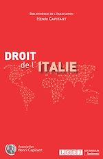 Télécharger le livre :  Droit de l'Italie