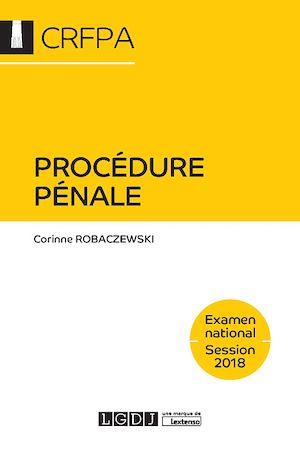 Téléchargez le livre :  Procédure pénale 2018