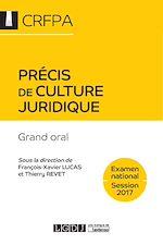 Télécharger cet ebook : Précis de culture juridique 2017