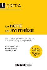 Télécharger le livre :  La note de synthèse 2017 - 6e édition