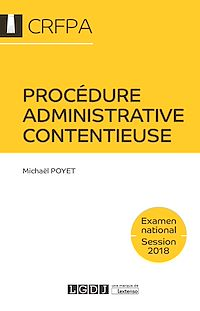 Télécharger le livre : Procédure administrative contentieuse 2018
