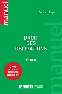 Télécharger le livre : Droit des obligations - 8e édition