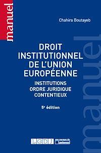 Télécharger le livre : Droit institutionnel de l'Union européenne - 5e édition