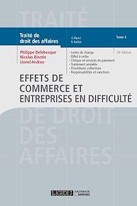 Télécharger le livre : Effets de commerce et entreprises en difficulté - Tome 4 - 18e édition