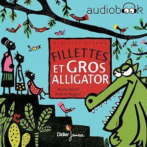Téléchargez le livre :  Fillettes et gros alligator