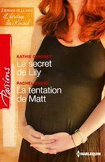 Télécharger le livre :  Le secret de Lily - La tentation de Matt