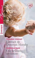 Télécharger le livre :  L'enfant de Donovan Murphy - Une brûlante invitation